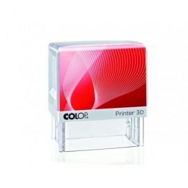 COLOP Sello Personalizado Printer 30 18 x 47 mm 5 Lineas SGPR.30.AA