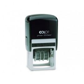 COLOP Tampones Printer estandar 30X45 mm ROJO/NEGRO/AZUL 7 líneas SGPR.53.AA
