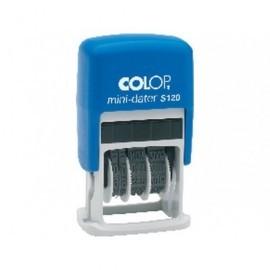 COLOP Sellos Mini Dater S120 4 mm S100.S120.E