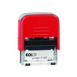 COLOP Sello Printer 20 38X14MM AZUL CONTABILIZADO SFC20.PR20C.07