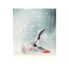 RAPID Grapadora de Grueso Duax 170 Hojas Naranja/Plata Grapado Plano 21698301