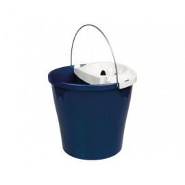 BUNZL Cubos limpieza 12L Azul Con escurridor  16070