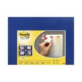 POST-IT Tablero Adhesivo 46x58,5 cm Azul 70005246031