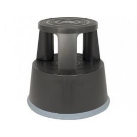 Taburete  2 peldaños Negro Negro 440x240 mm