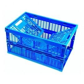VISO Caja almacenamiento 595x395x320 mm Plegable a 54 mm Polipropileno BP60BL