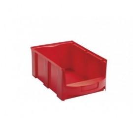 VISO Bandeja Star Apilable de almacenaje 419x260x165mm Rojo 14L STAR4LR