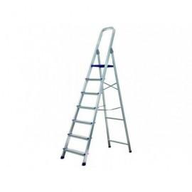 IBERLIM Escalera  7 peldaños Metálica Plegable