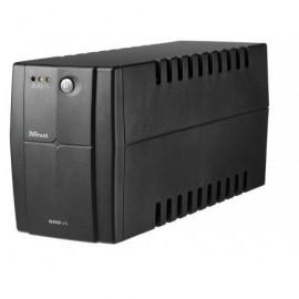 TRUST Fuente alimentación eléctrica SAI Oxxtron 600VA negro 17681