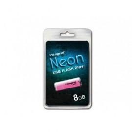 INTEGRAL Memoria USB 2.0 Neon 8 GB rosa INFD8GBNEONPK