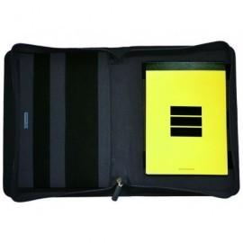 MULTIFIN Portadocumentos Cordura A5 215x280x40mm Negro J955.3