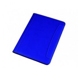 ALASSIO Portabloc Messina símil piel A4 330x240x25mm Azul 30082