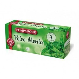 POMPADOUR Infusiones Poleo-Menta Caja 20 ud Bolsas 40201