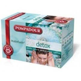 POMPADOUR Infusiones Detox Caja 20 ud Bolsas 40117