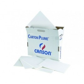 CANSON Carton Pluma Paquete 40 Hojas 50x70 3MM 205154401