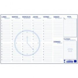 MARINO Talonario Planning Semanal 60 Hojas 350X500 mm Apaisado 152/1
