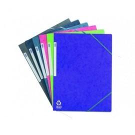 ELBA Carpeta Gomas 3 solapas A4 Colores surtidos 100200901