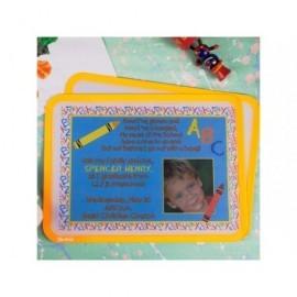 TARIFOLD PACK 2 MARCOS IMANTADOS DORSO ADHESIVO REPOSICIONABLE PVC FORMATO A4 COLOR NARANJA 194956