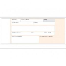 MARINO Talonario Recibos 100 Hojas 210X105 Matriz Catalan 16/1