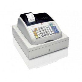 OLIVETTI Caja registradora ECR 7700 Plus alfanumérica térmica/VFD/blanca B4866000