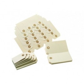 Etiquetas con arandela Cajas de 1000 u. 48X85 01134