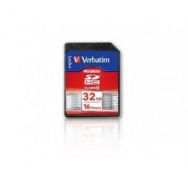 VERBATIM Tarjeta de memoriaSDHC 32 GB clase 10 43963
