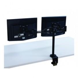 FELLOWES Brazo flexible doble para monitor Professional Series negro 8041701