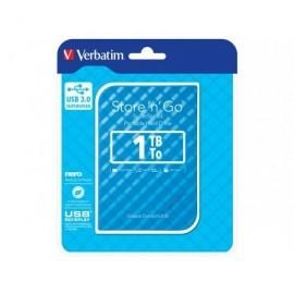 VERBATIM Disco duro portátil USB 3.0 Store 'n' Go GEN2 1TB 2,5'' azul 53200