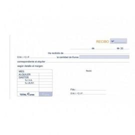 MARINO Talonario Recibos Alquiler (con IVA) 50 Juegos 210x105  52/2
