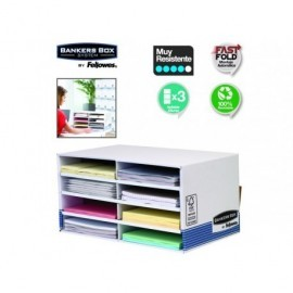 FELLOWES Organizador blanco 0030003