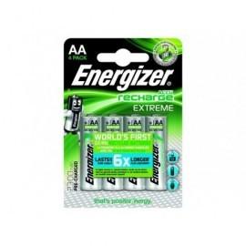ENERGIZER Blister4 Pilas Recargables HR06 Extreme AA 2300 E300624600