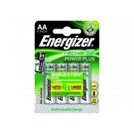 ENERGIZER  Rechargeable Power Plus AA x 4 2000 Mah E300626700
