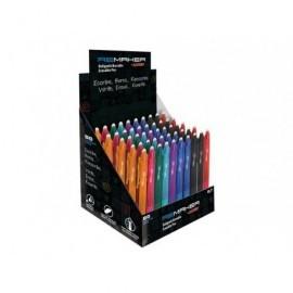 ALPINO Expositor 50 bolígrafos surtidos Remaker soft 0,7mm. BB000103