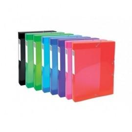 EXACOMPTA Carp.proyecto lomo ancho 40mm p.p.,para A4, colores brillantes,8 colores surtidos 59770E