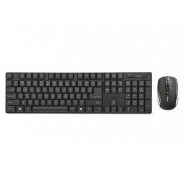 TRUST Pack teclado + ratón inalámbricos Ximo negro 21135