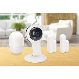 EDNET Starter kit security Smart Home blanco 84299
