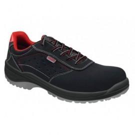 Zapato Piel t-39,metal free,máx.rendimiento,mín.coste, puntera y plantilla de acero AS0116