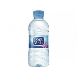 FONT VELLA Agua Mineral Natural Pack 35 u Botellas 33 cc. 0 19381